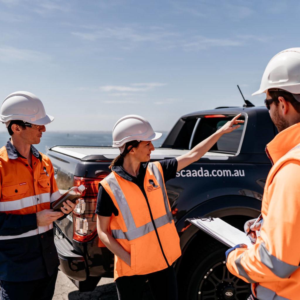 Asbestos air monitoring companies - Scaada