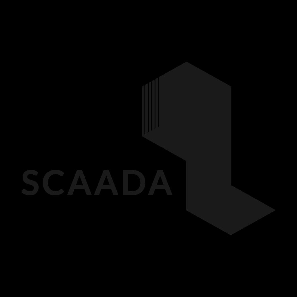 SCAADa logo refined trans black